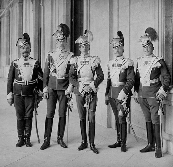Alfonso XIII uniforme Lanceros Olviopol