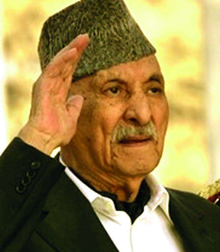 S.M El Rey Zahir Shah de Afganistan que fallecio en 2007