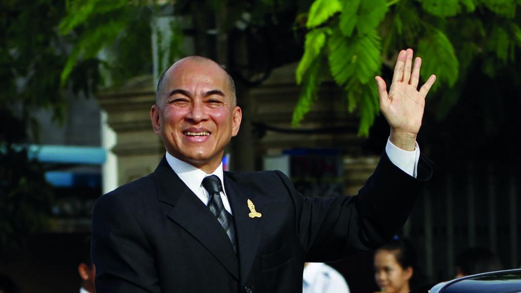 SM EL Rey Norodom Sihamoni de Camboya