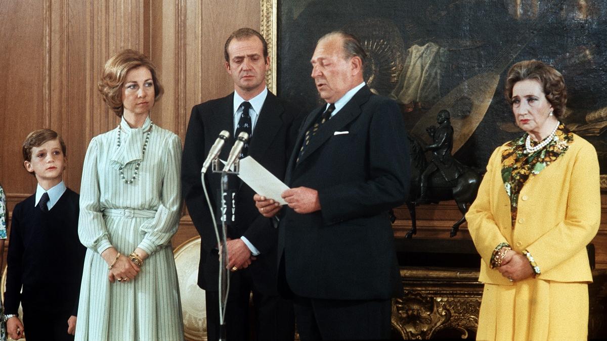 Abdicacion de Don Juan III en favor del Rey Juan Carlos