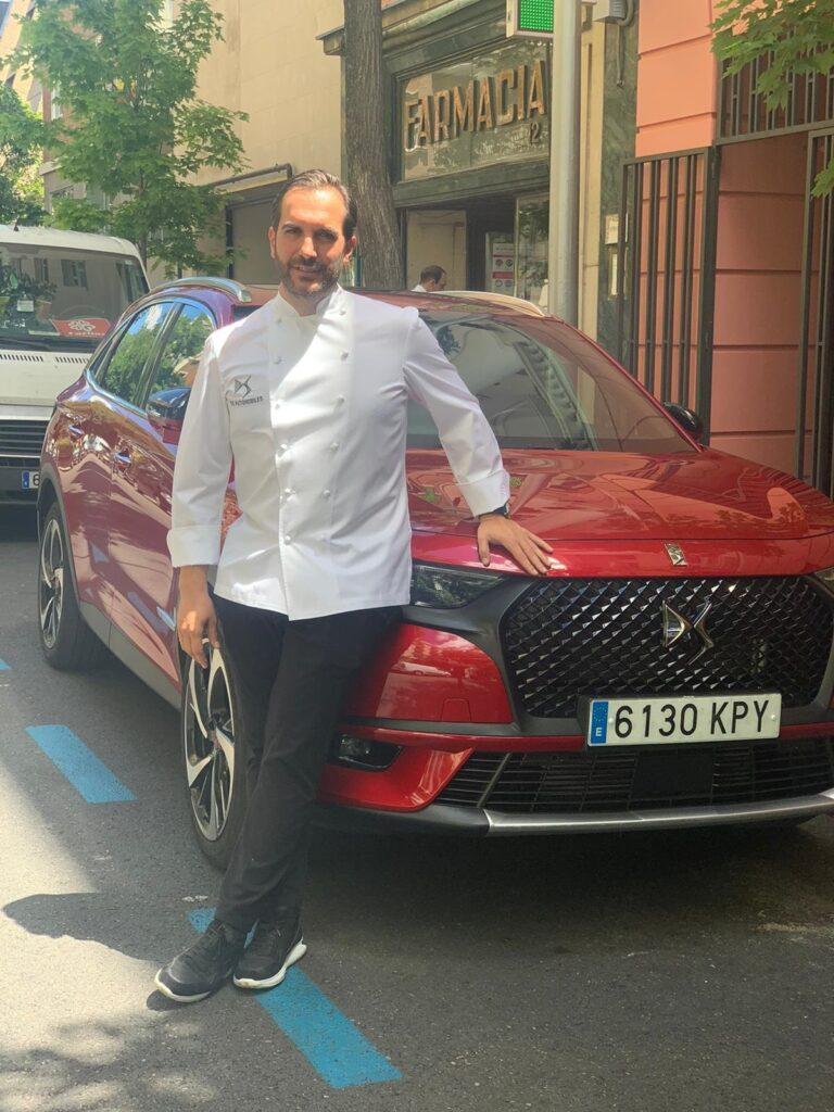 EL CHEF MARIO SANDOVAL, NUEVO EMBAJADOR DE DS AUTOMOBILES
