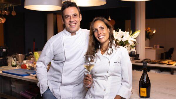 Veuve Clicquot Garden Gastronomy x UMA Iker Erauzkin y Anna Yébenes
