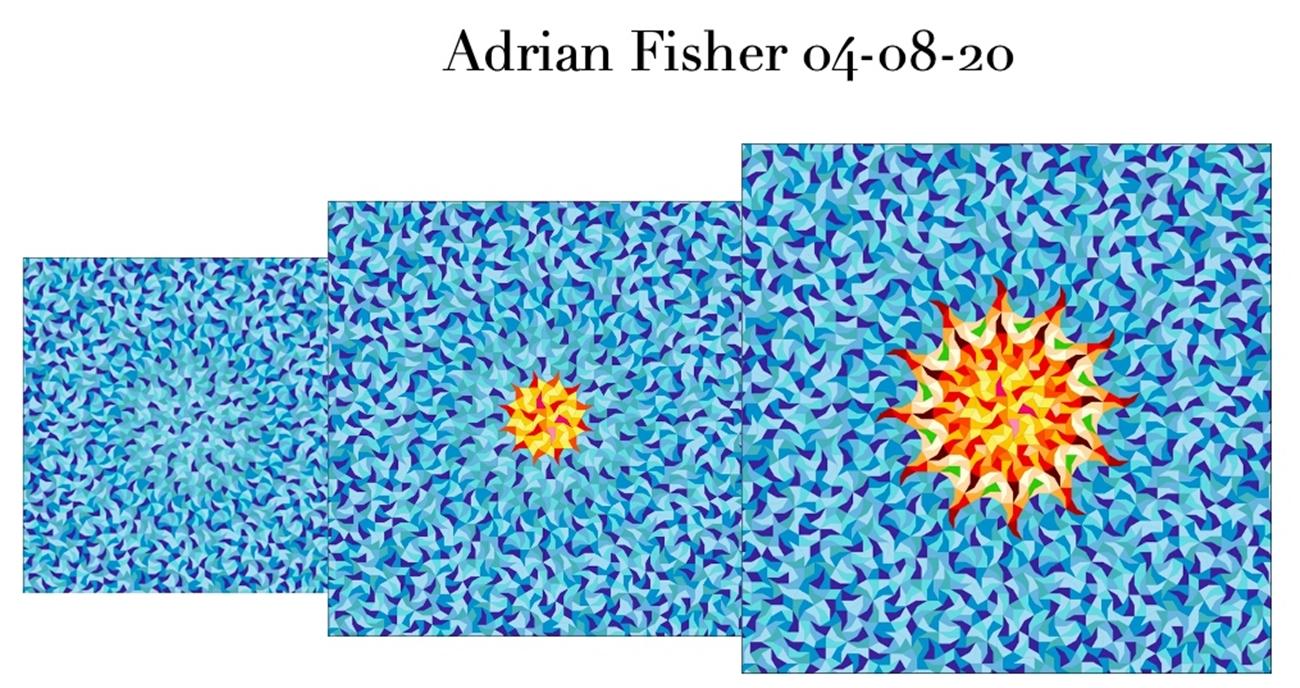 Imagen cedida por Adrian Fisher para el pañuelo de seda de morera