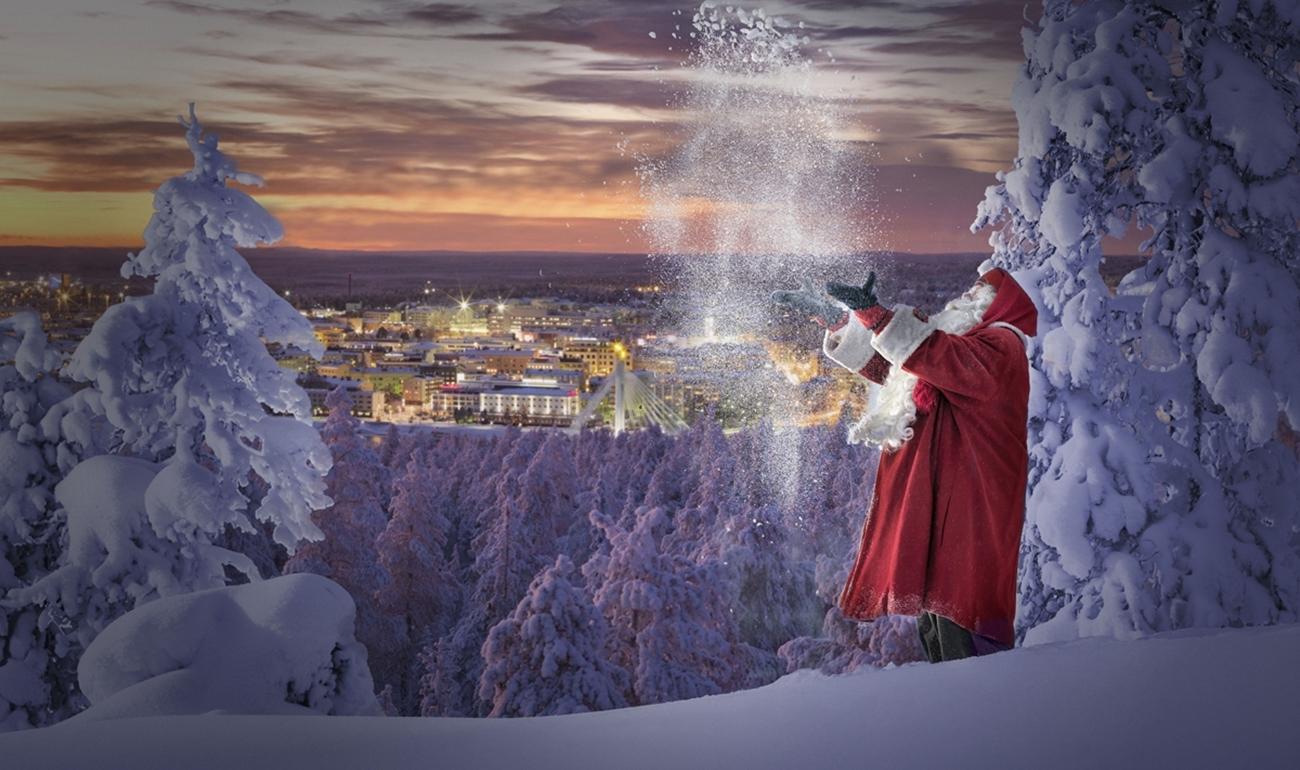 """""""Say it with Santa"""": escribe un mensaje y Papá Noel lo enviará a tus seres queridos"""